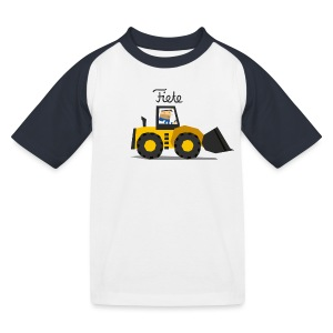 'Digger' Fiete Kids Baseball Shirt - black - Kinder Baseball T-Shirt