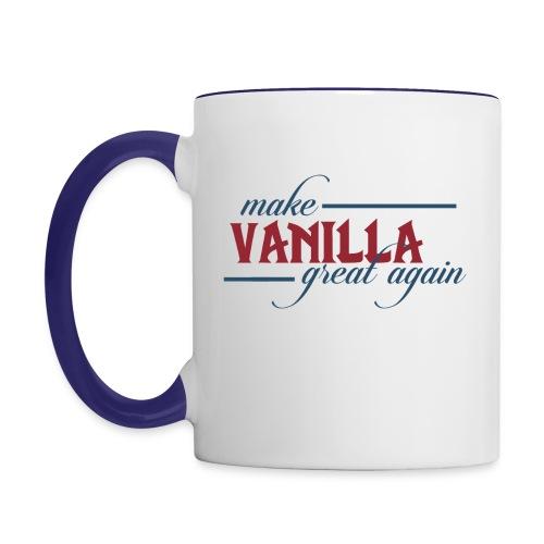 Make Vanilla Great Again [Mug] - Contrasting Mug