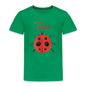 'Buggy' Fiete Kids Shirt - green - Kinder Premium T-Shirt
