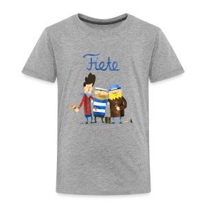 'Friends' Fiete Kids Shirt - grey - Kinder Premium T-Shirt