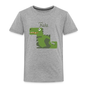 'Rex' Fiete Kids Shirt - grey - Kinder Premium T-Shirt