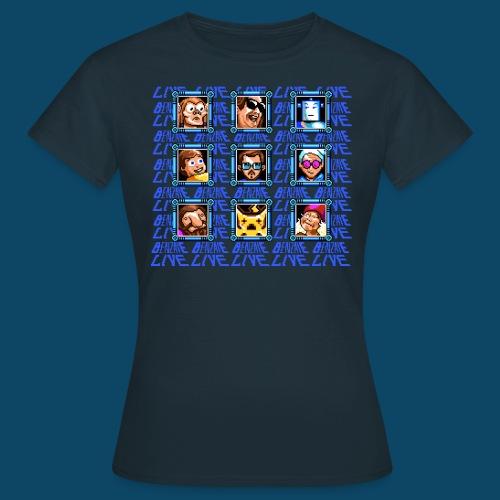 Benzaie Live Fem - T-shirt Femme
