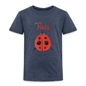 'Buggy' Fiete Kids Shirt - grey - Kinder Premium T-Shirt