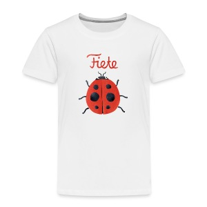 'Buggy' Fiete Kids Shirt - white - Kinder Premium T-Shirt