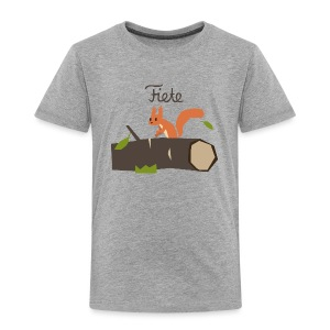'Chippy' Fiete Kids Shirt - grey - Kinder Premium T-Shirt