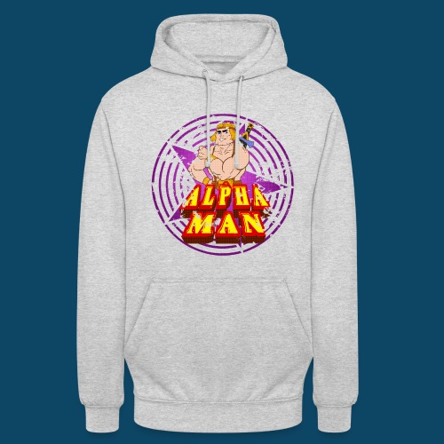 Hoodies Man ! - Sweat-shirt à capuche unisexe