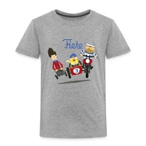 'Crazy Race' Fiete Kids Shirt - grey - Kinder Premium T-Shirt