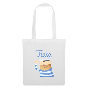 'Hello' Fiete Shopping Bag - white - Stoffbeutel