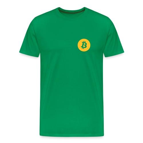 Premium Men - Bitcoin - Men's Premium T-Shirt