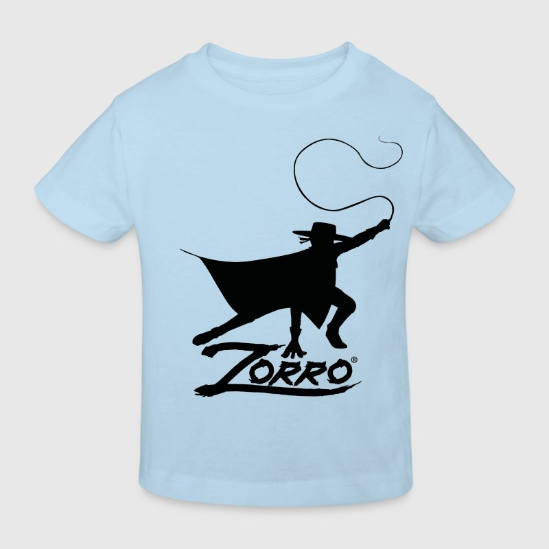 Zorro The Chronicles Silhouette With Whip - Kids' Organic T-shirt