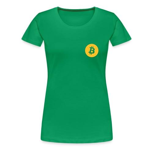 Premium Women - Bitcoin - Women's Premium T-Shirt