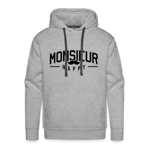 Monsieur-Happy Sweat-shirts - Sweat-shirt à capuche Premium pour hommes