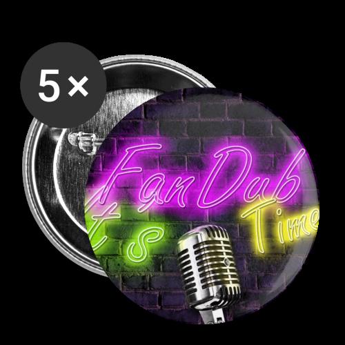 Chapa ItsFanDubTime logo - Chapa mediana 32 mm