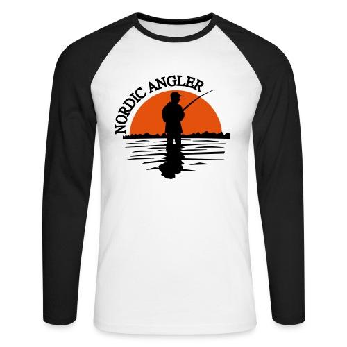 Sonnenuntergang - Männer Baseballshirt langarm