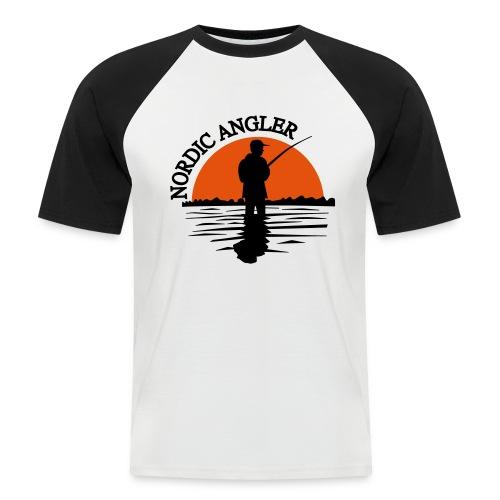 Sonnenuntergang - Männer Baseball-T-Shirt
