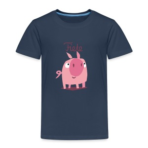 'Freddy' Fiete Kids Shirt - navy - Kinder Premium T-Shirt