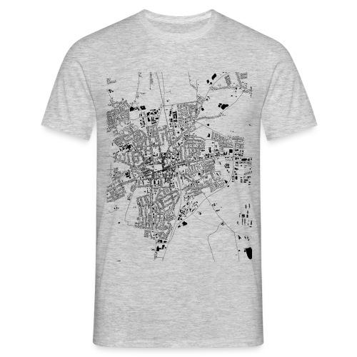HEIDE Shirt Grau - Männer T-Shirt
