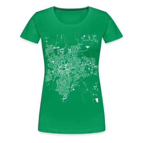 HEIDE Girl Grün - Frauen Premium T-Shirt