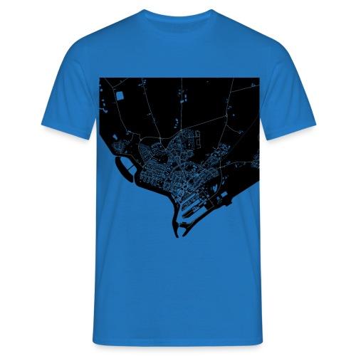 BÜSUM Shirt Blau - Männer T-Shirt