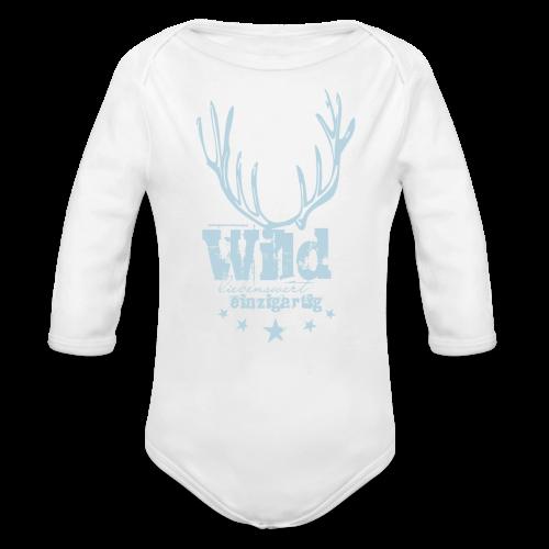 Wilde Kids - Baby Bio-Langarm-Body