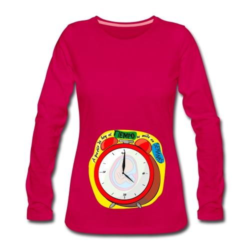Tiempo Semanas (chica) - Camiseta de manga larga premium mujer