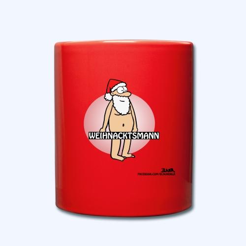 Weihnacktsmann Tasse - Tasse einfarbig