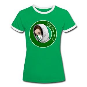 Wolfsburg Girls - Frauen Kontrast-T-Shirt