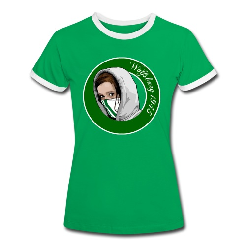 Wolfsburg Girls - Frauen Kontrast-T-Shirt