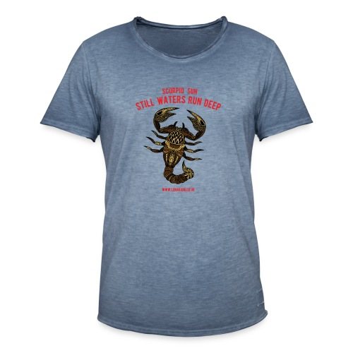 Scorpio Sun Men's Vintage T-Shirt - Men's Vintage T-Shirt