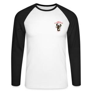 Scorpio Sun Men's Long Sleeve Baseball T-Shirt - Men's Long Sleeve Baseball T-Shirt