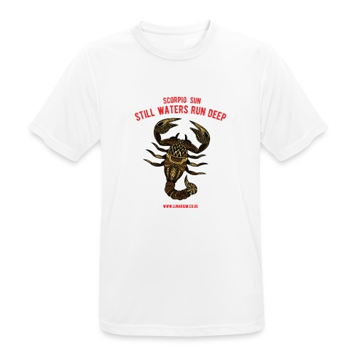 Scorpio Sun Men's Breathable T-Shirt - Men's Breathable T-Shirt