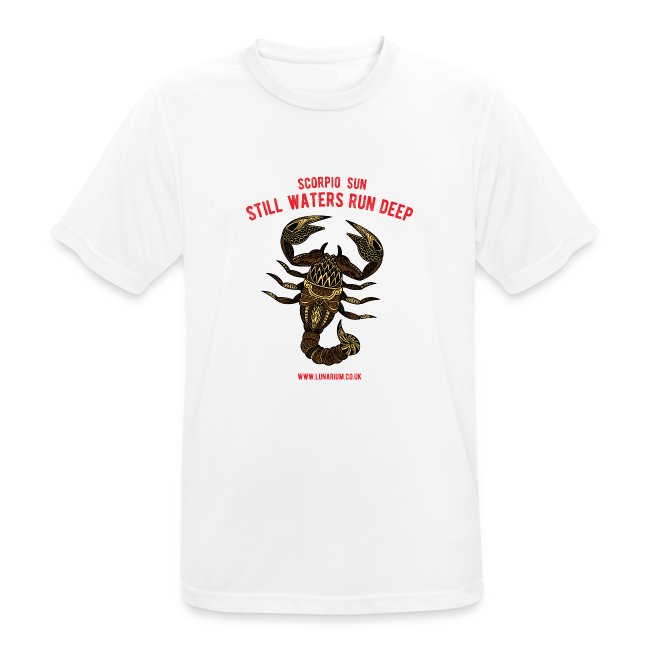 Scorpio Sun Men's Breathable T-Shirt