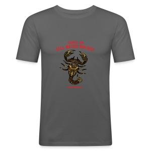 Scorpio Sun Men's Slim Fit T-Shirt - Men's Slim Fit T-Shirt