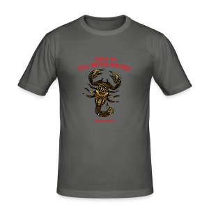 Scorpio Sun Men's Slim Fit T-Shirt - Men's Slim Fit T-Shirt
