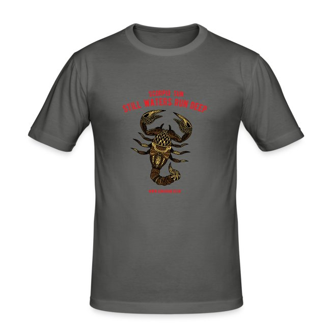 Scorpio Sun Men's Slim Fit T-Shirt