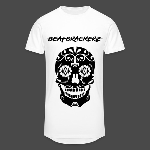 BeatBrackerz Skull Long-Shirt  - Männer Urban Longshirt