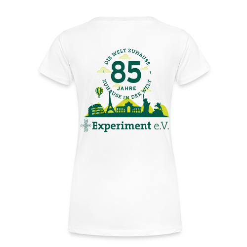 T-Shirt Damen - Jubiläumslogo Skyline - Frauen Premium T-Shirt