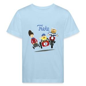 'Crazy Race' Fiete Kids Shirt Bio - lightblue - Kinder Bio-T-Shirt
