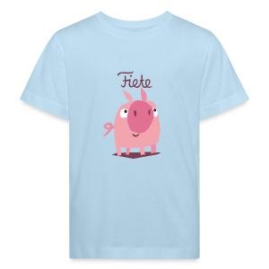 'Piggy' Fiete Kids Shirt Bio - lightblue - Kinder Bio-T-Shirt