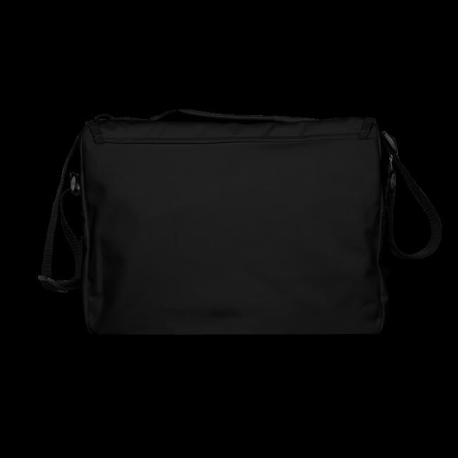 "Handy shoulder bag ""bLoops Puzzle"" (printed apple green)"