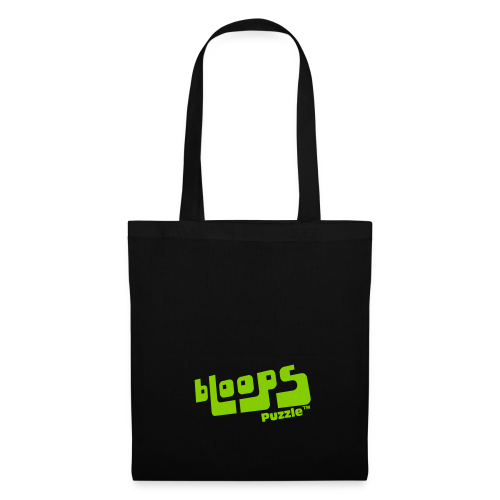 Tote Bag bLoops Puzzle (printed green) - Tote Bag