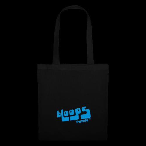 Tote Bag bLoops Puzzle (printed blue) - Tote Bag