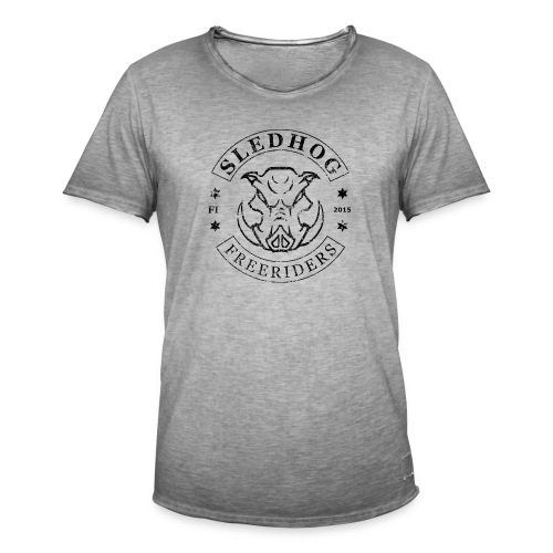 SLEDHOG™ vintage t-paita - Miesten vintage t-paita