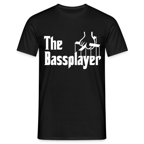 The Bassplayer - Camiseta hombre
