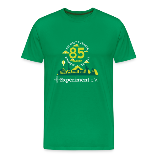 Premium-Shirt Herren - Jubiläumslogo Skyline hell - Männer Premium T-Shirt