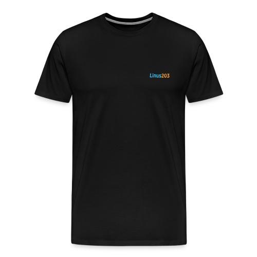 Linus203 T-Skirt  (Endast fram) - Premium-T-shirt herr