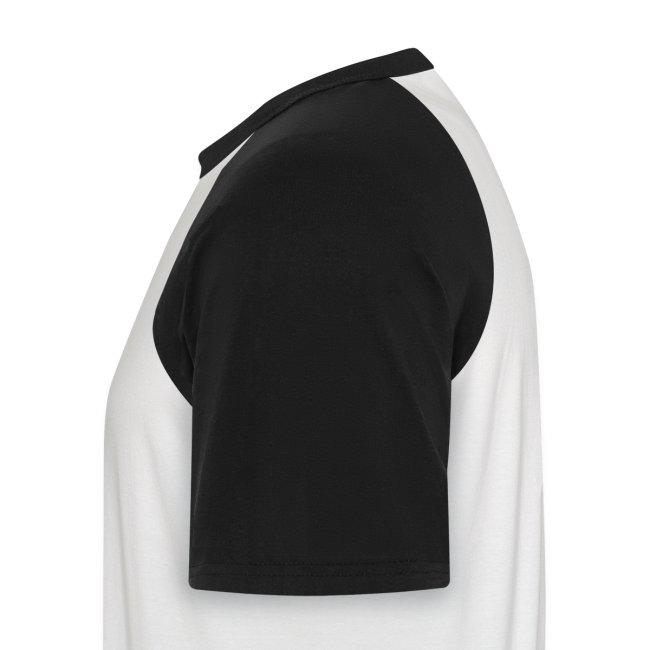 Männer Baseball-Shirt schwarz | Haunstetten- Why not?