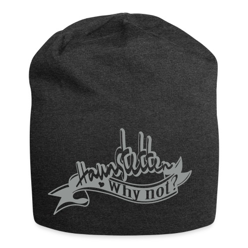 Beanie coal  | Haunstetten- Why not? - Jersey-Beanie