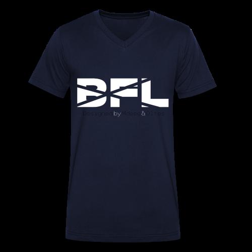 BrosForLifeV.2 Männer V-Ausschnitt - Männer Bio-T-Shirt mit V-Ausschnitt von Stanley & Stella