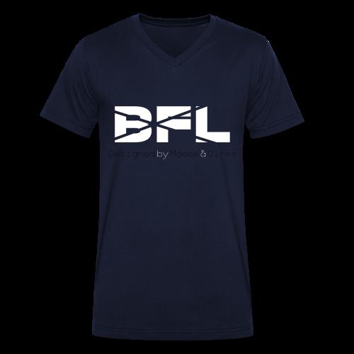 BrosForLifeV.2 (überarbeitet) Männer V-Ausschnitt - Männer Bio-T-Shirt mit V-Ausschnitt von Stanley & Stella